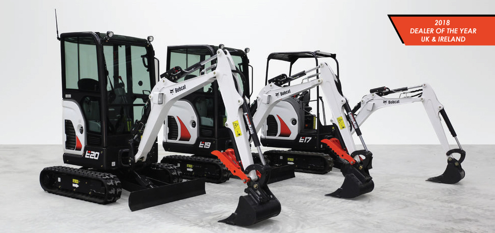 Bobcat loaders, excavators and telehandlers